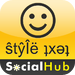 SocialHub for Facebook Twitter Buzz Myspace foursquare SMS Email Meebo